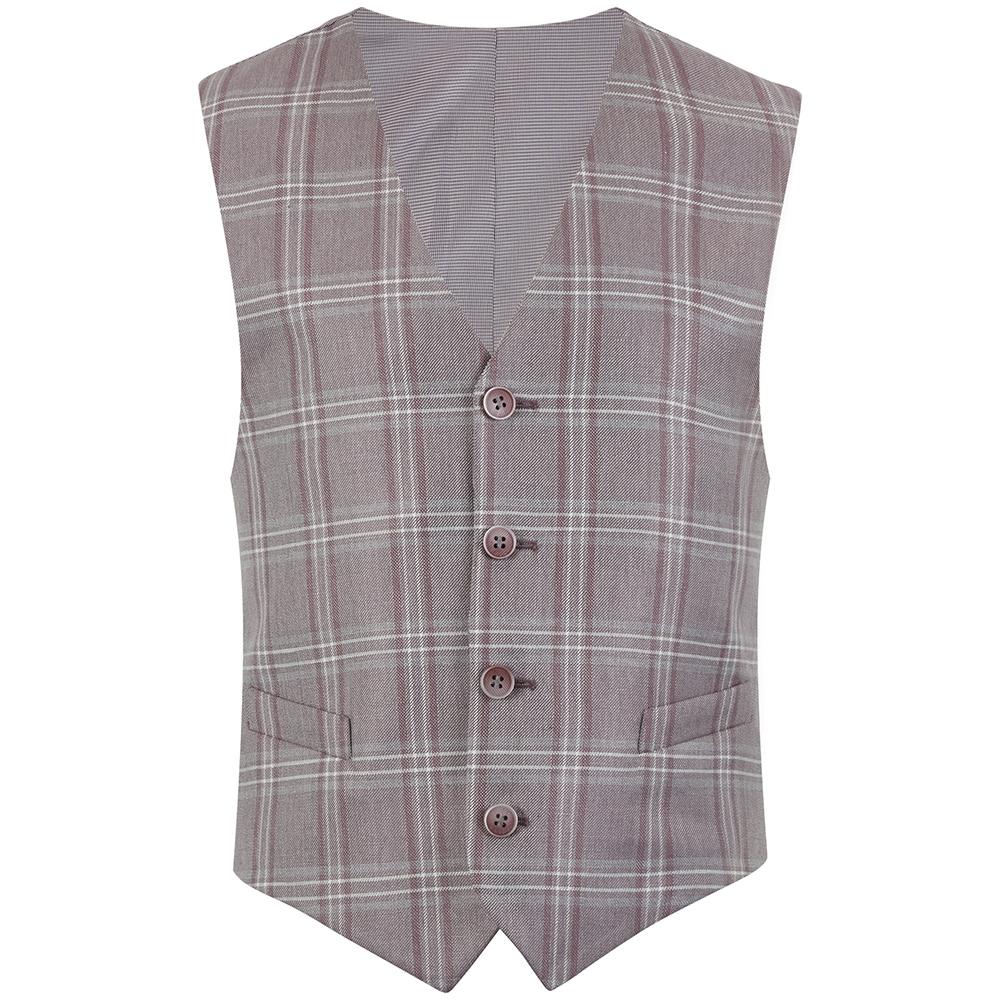 Davis Waistcoat in Pink
