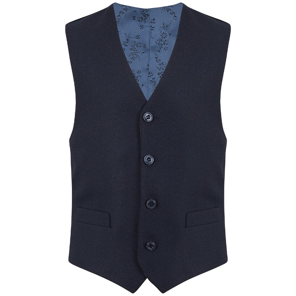 Boys Harry Waistcoat in Blue