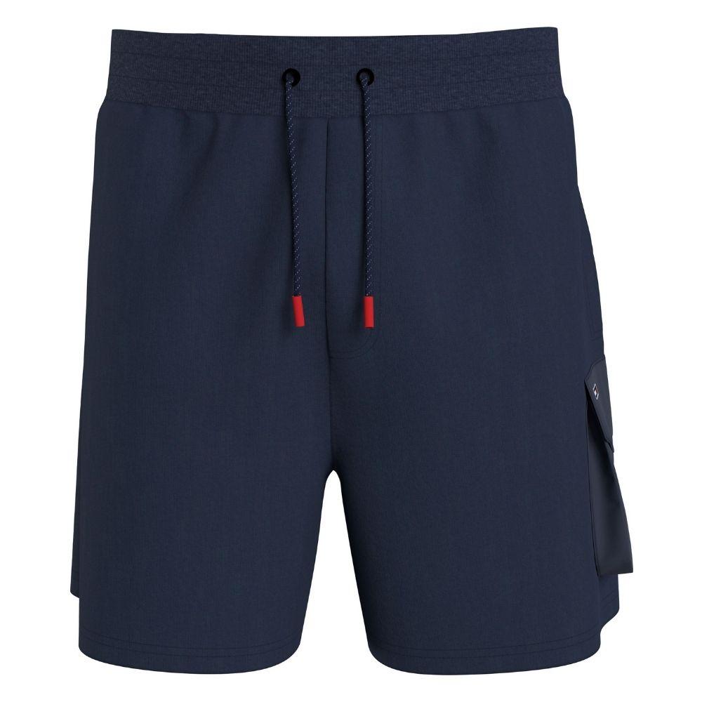 TJM Fabric Sweat Short in Navy