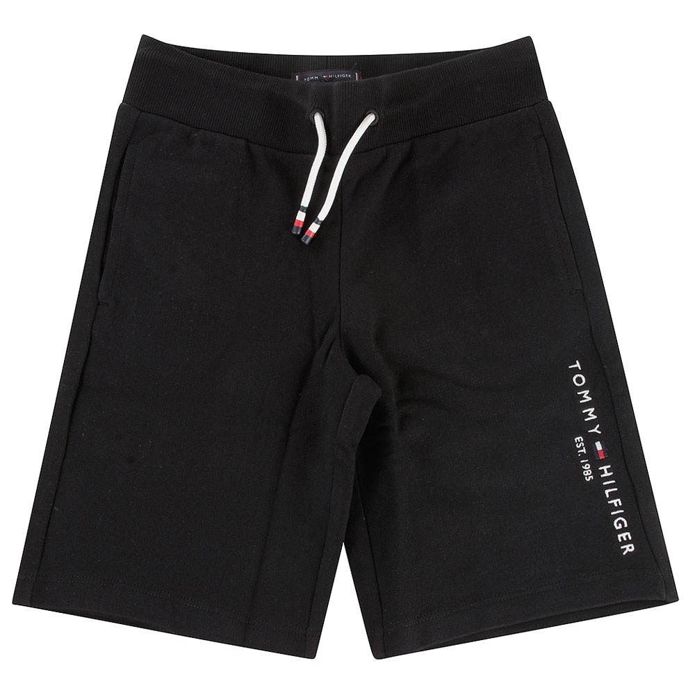 Essential Kids Sweatshorts in Black