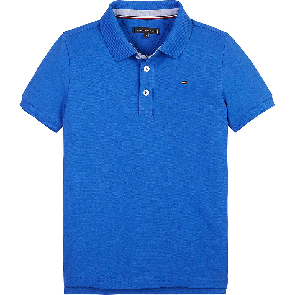 Kids Polo Shirt in Blue