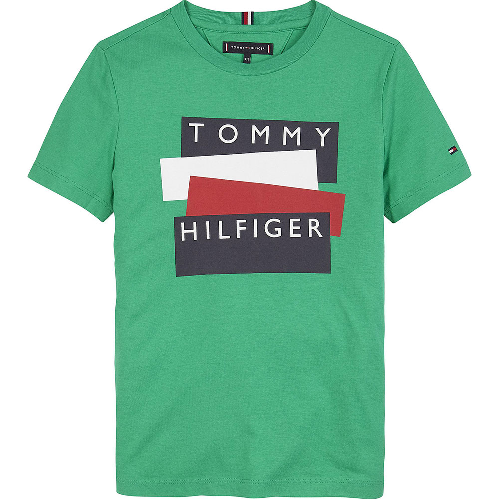 Sticker T-Shirt in Green