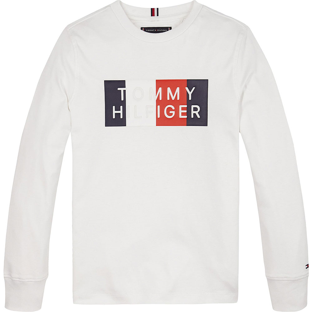 Global Graphic LS T-Shirt in White