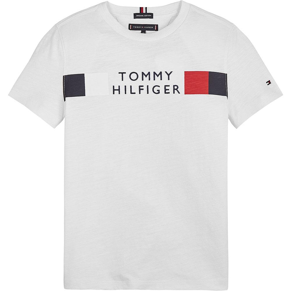 Global Stripe T-Shirt in White