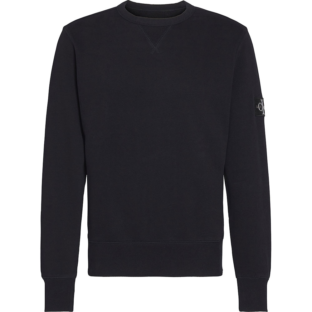 Monogram Sweatshirt in Black