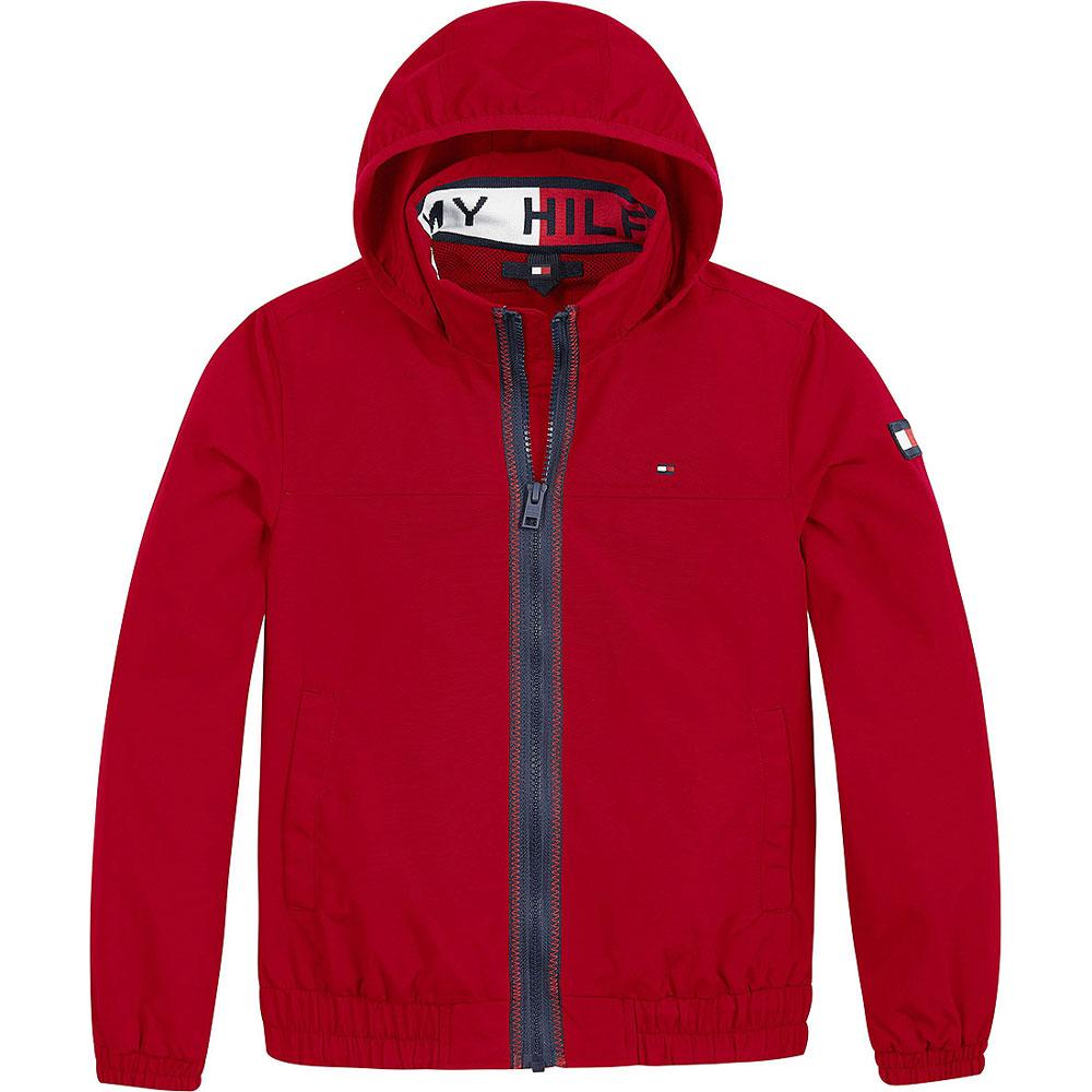 Kids Essential Jacket in Red