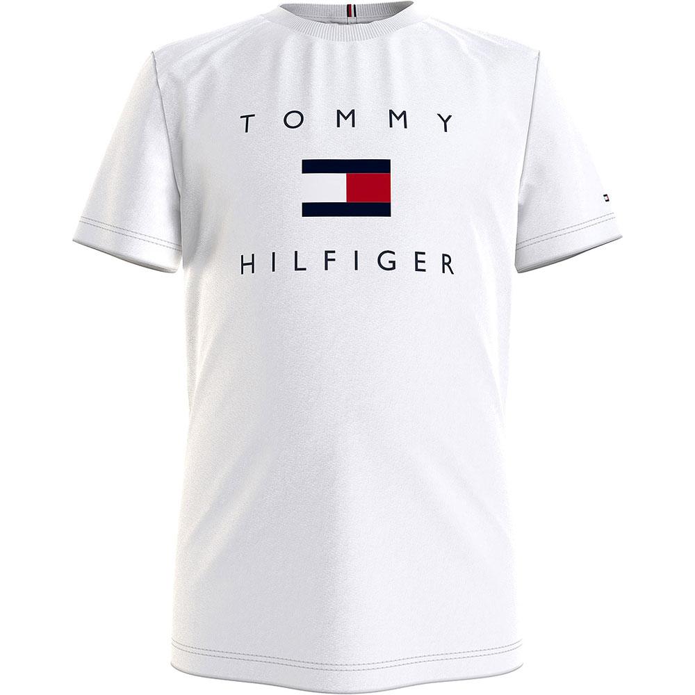 Hilfiger Logo T-Shirt in White