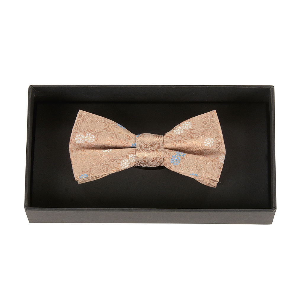 Boys Bow Tie in Gold