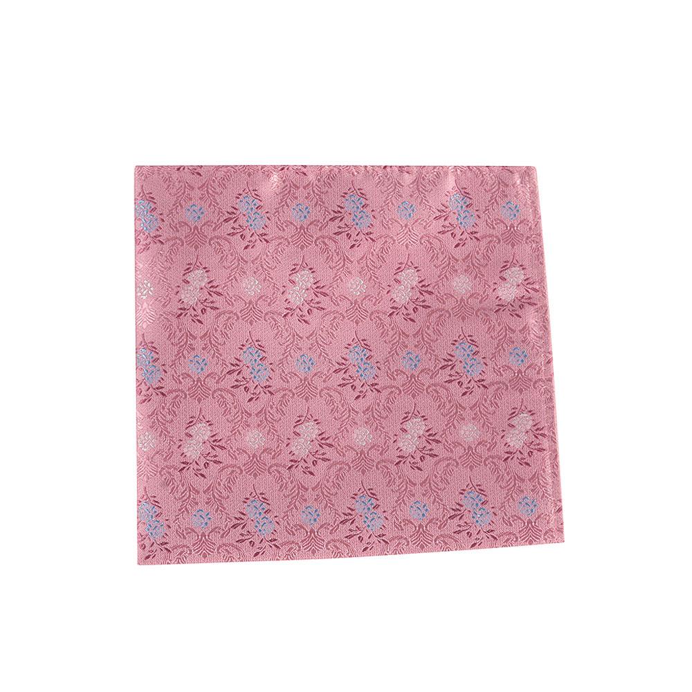 Boys Pocket Square in Pink