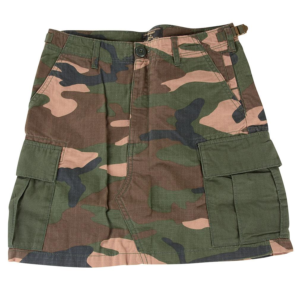 Cargo Skirt in Khaki
