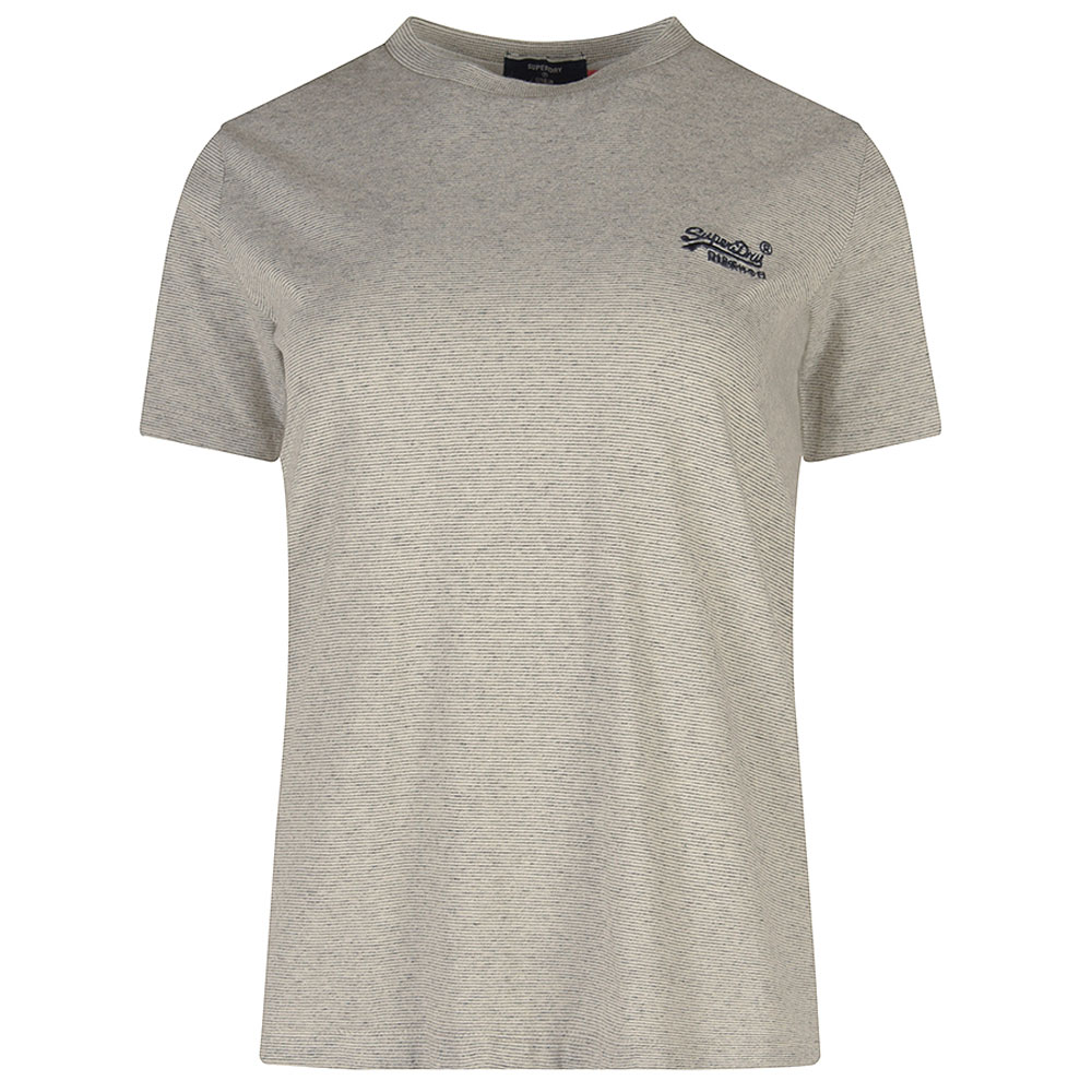 Classic T-Shirt in Silver