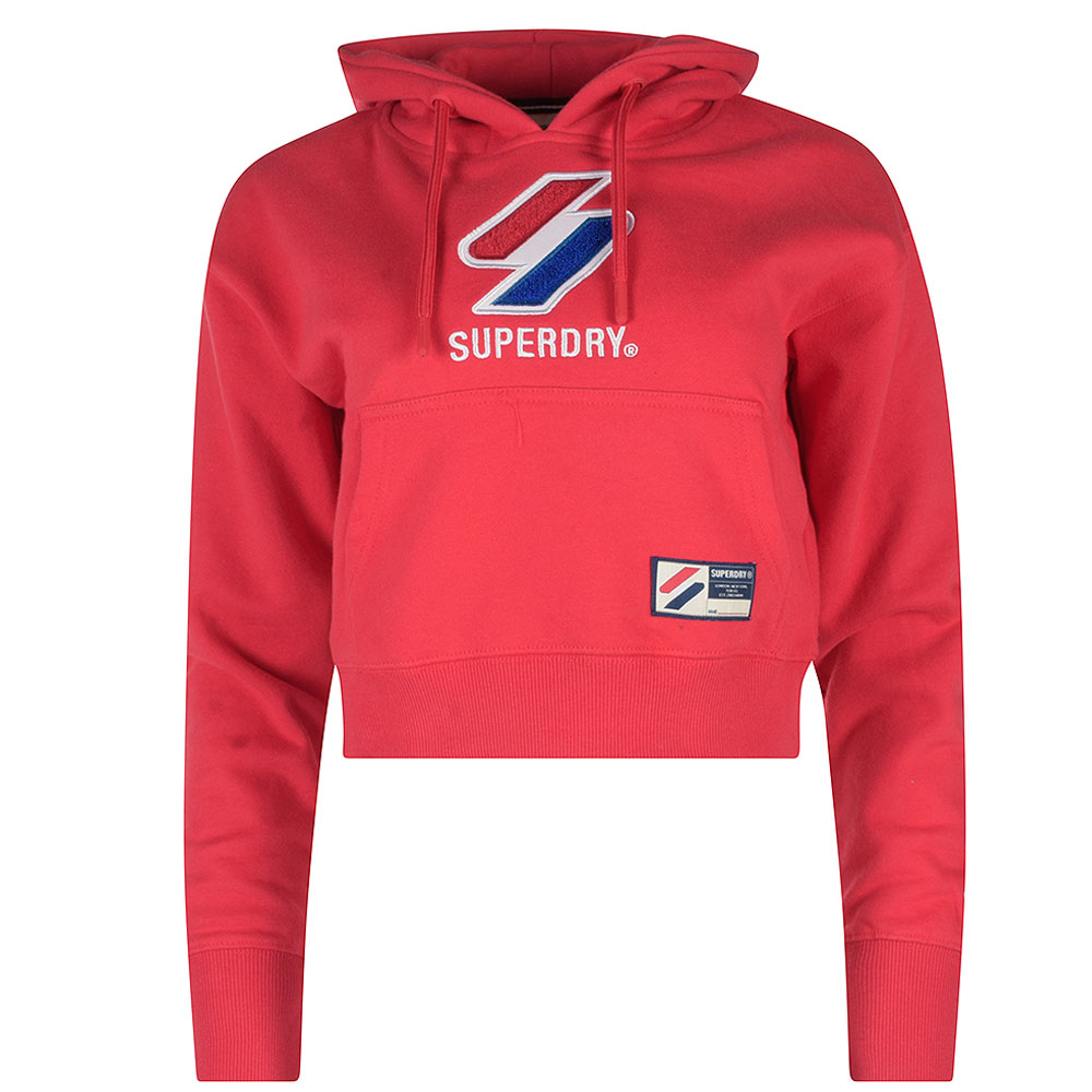 Sportstyle Classic Hoodie in Red