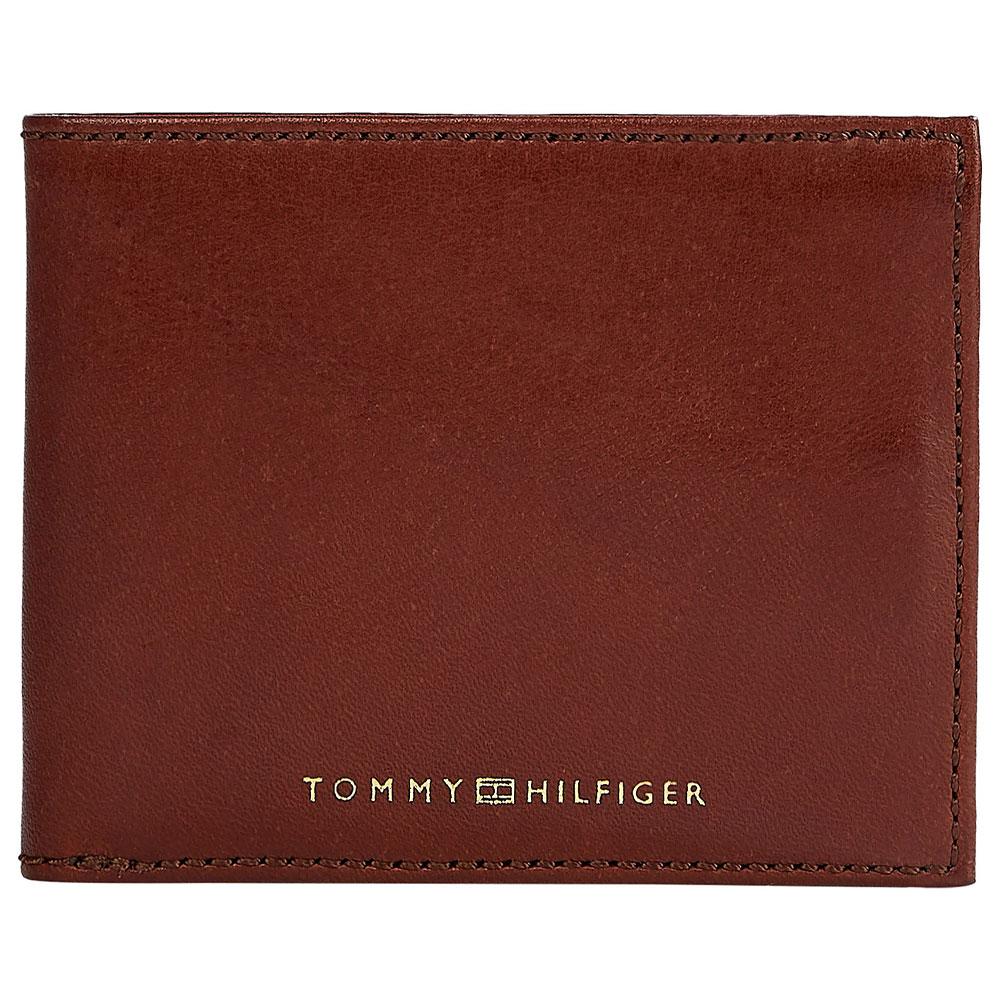 Casual Leather Mini Wallet in Tan