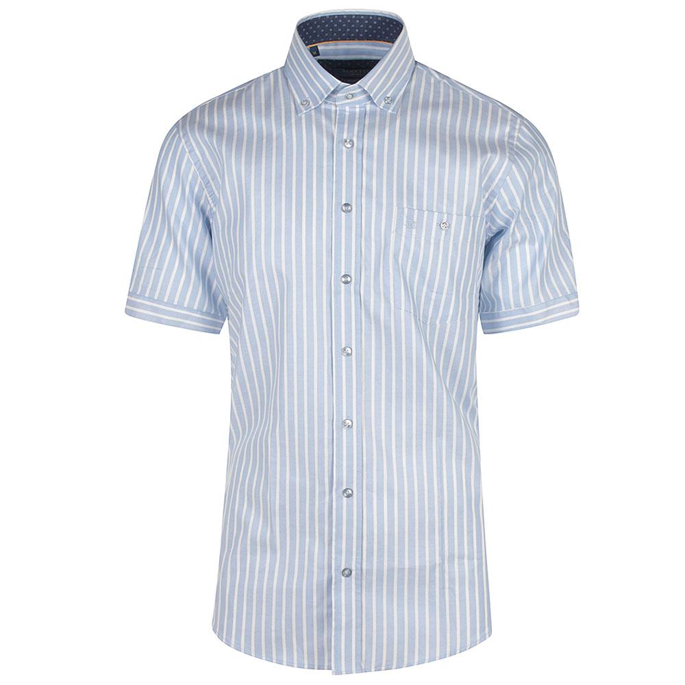 Danny Short Sleeve Shirt in Lt Blue