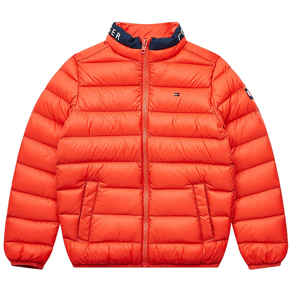 Kids Downfilled Jacket in Red