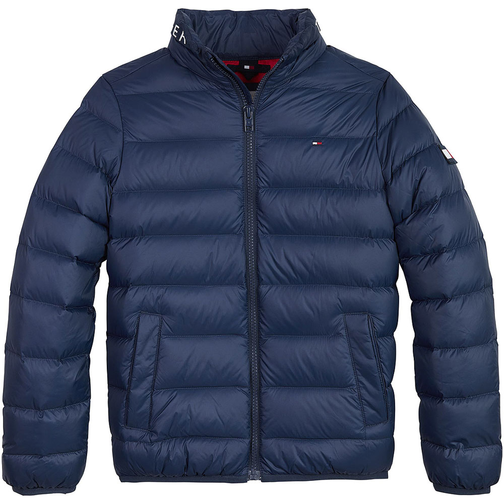 Kids Downfilled Jacket in Navy