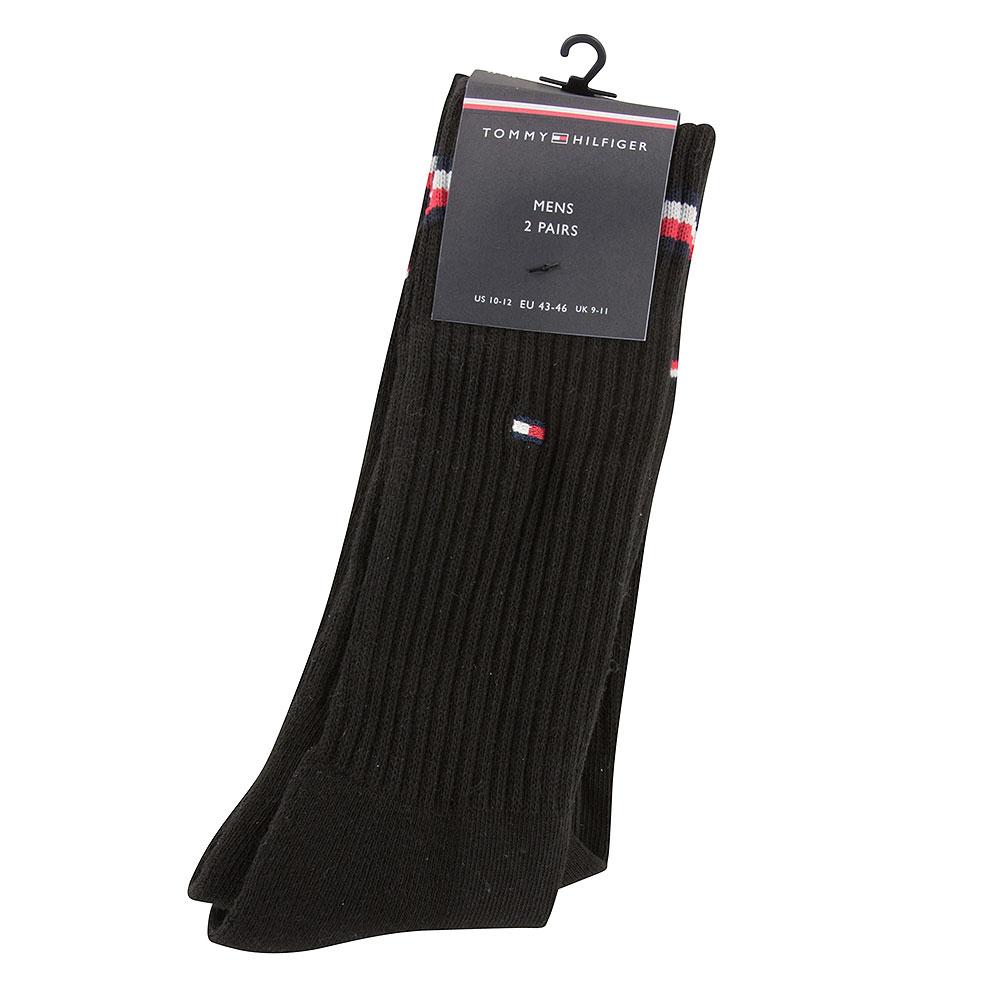 Mens Socks 2 pack in Black