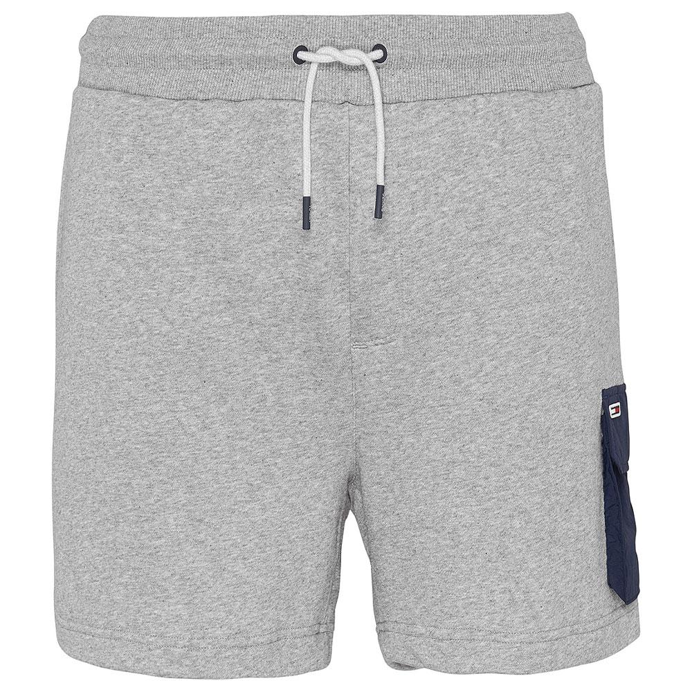 TJM Fabric Sweat Short in Lt Grey