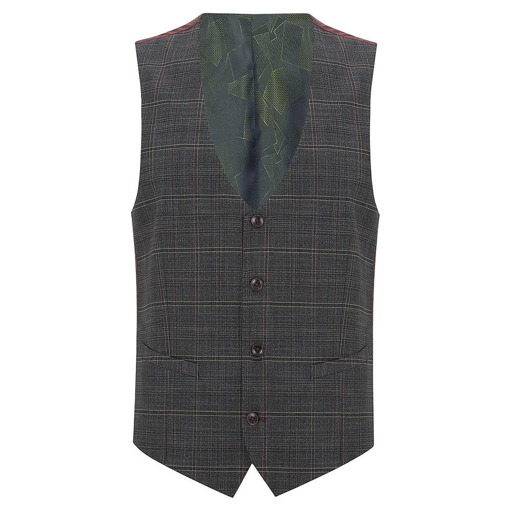 Lucian Waistcoat in Grey