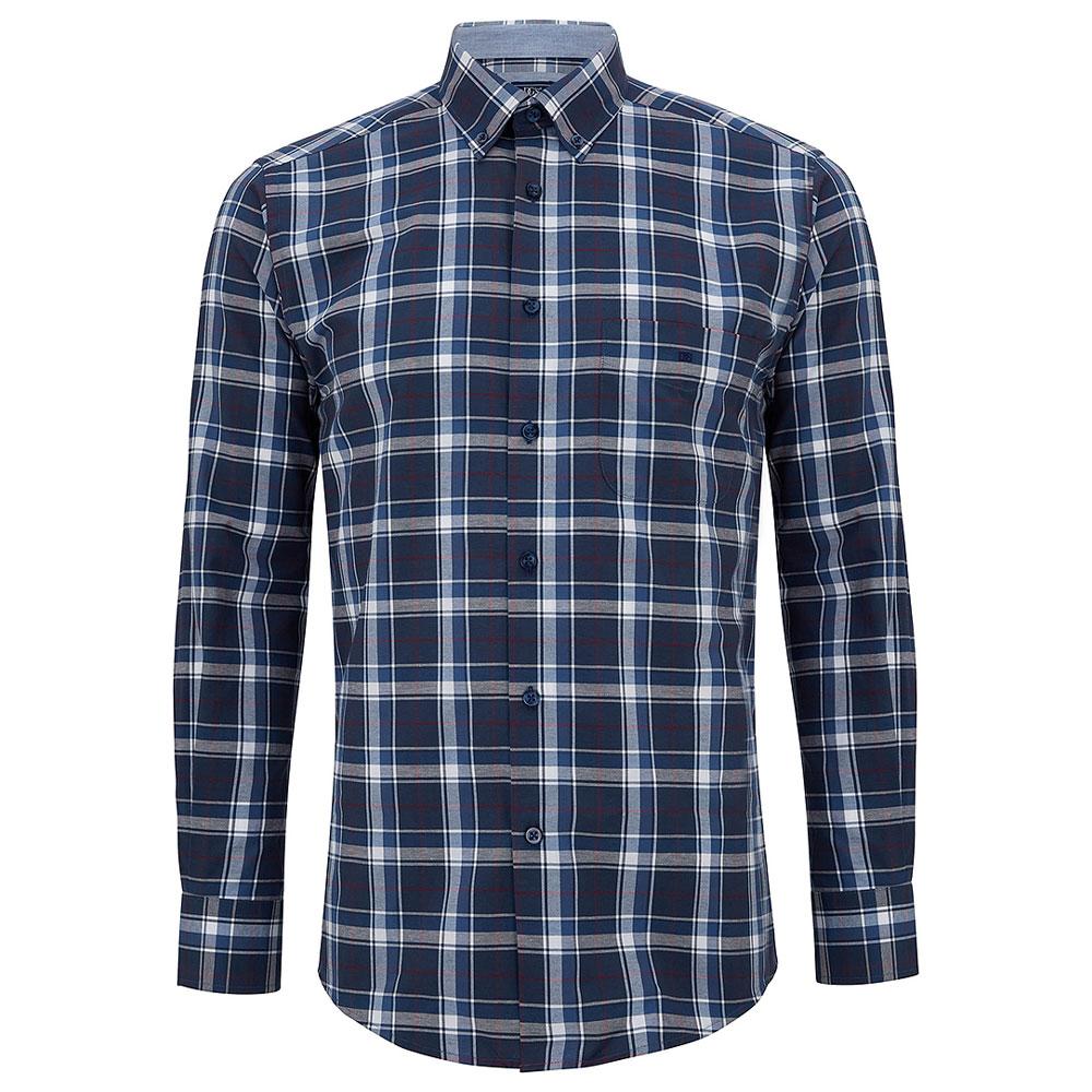 Ivano Regular Fitting Shirt in Navy