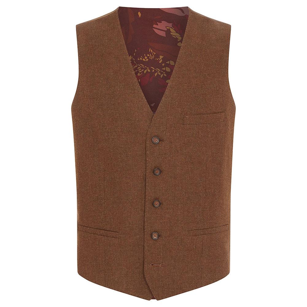 Leo Waistcoat in Brown