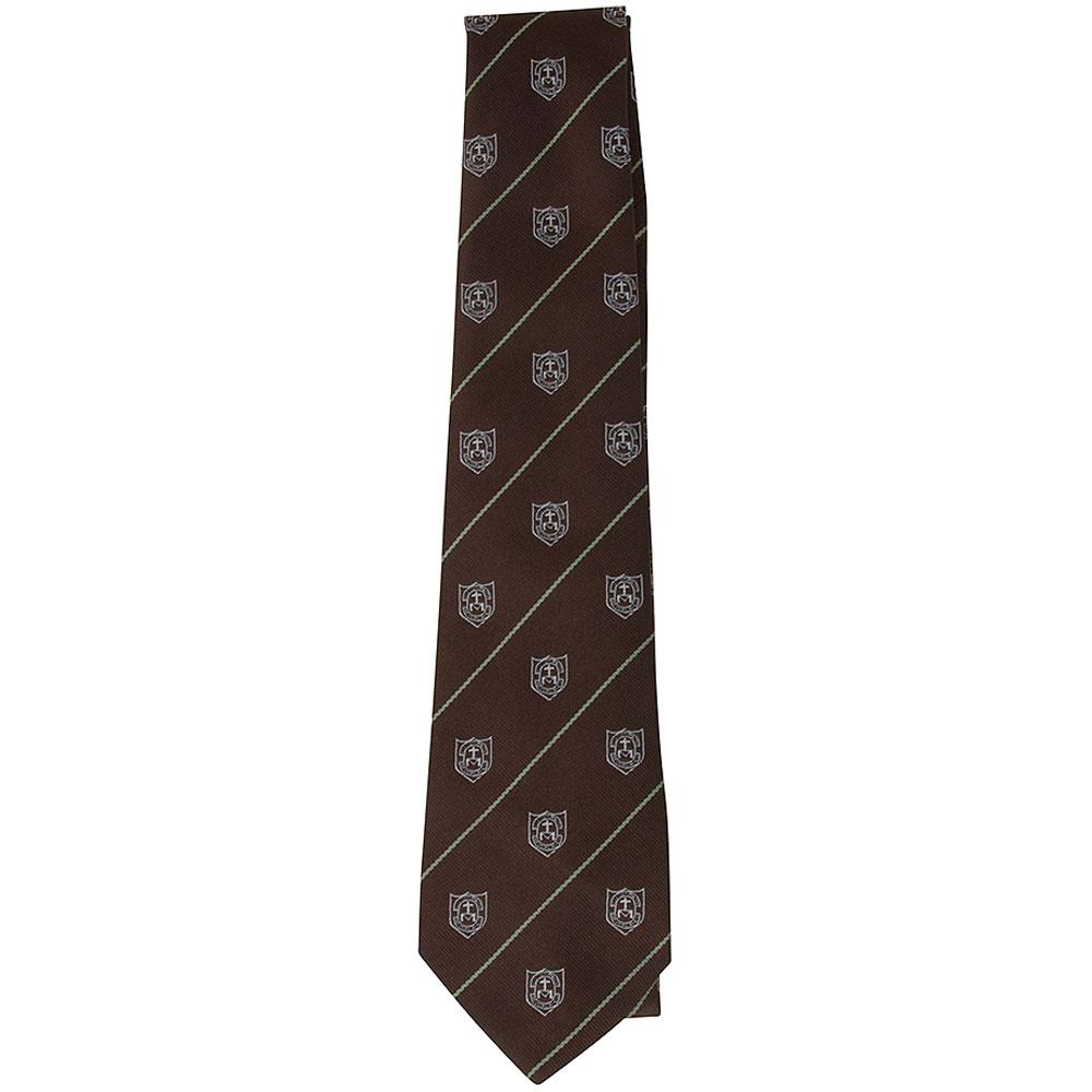 St Louises School Tie in White