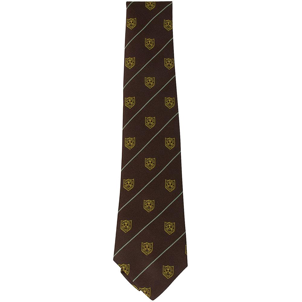 St Louises School Tie in Gold