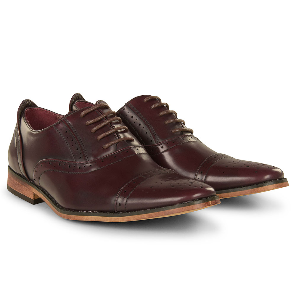 Boys Goor 990 in Burgundy