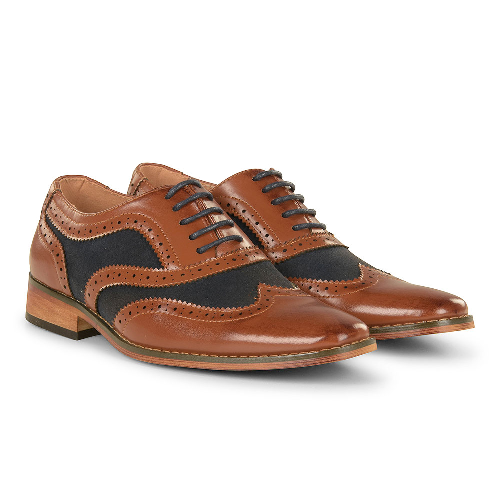 Goor-994 Boys Brogue in Tan