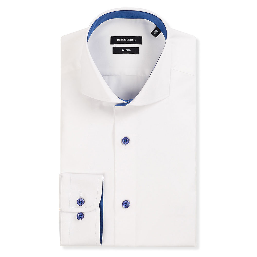 Tapered Jack Dress Shirt in White