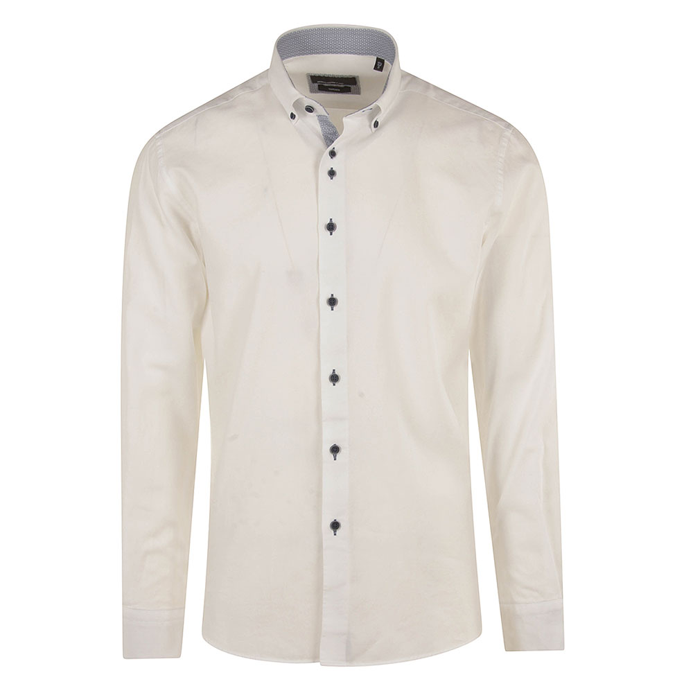 Parker Tapered Shirt in White