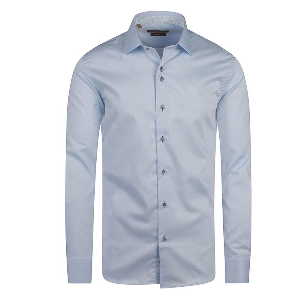 Atlanta Tapered Fitting Shirt in Lt Blue