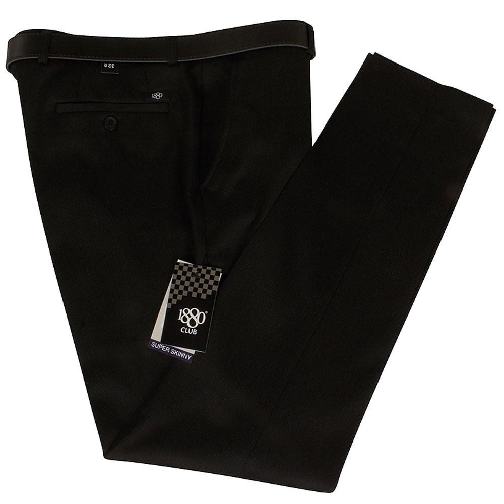 Boys Super Skinny Snr School Trouser in Charcoal