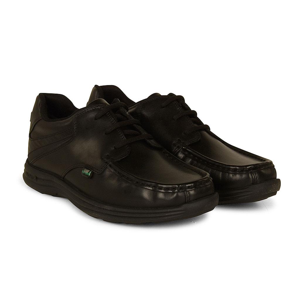 Reasan Lace School Shoe in Black