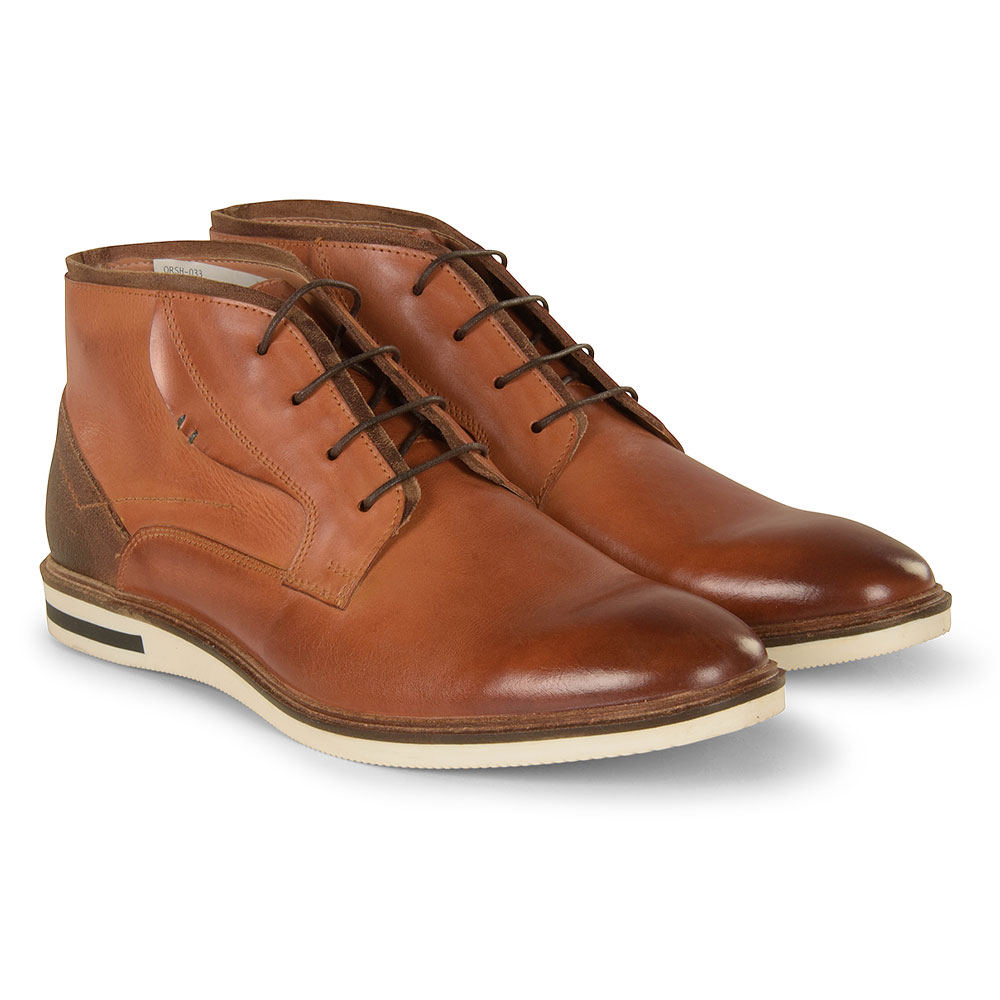 Niall Boot in Brown