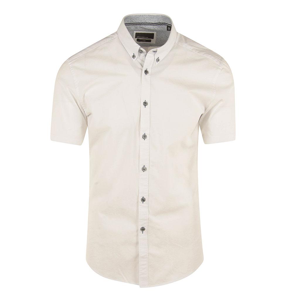 Rome Dino Half Sleeved Shirt in White