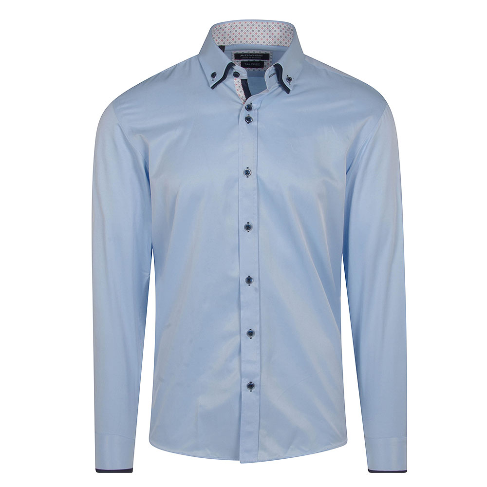 Advise Tailored Shirt in Lt Blue