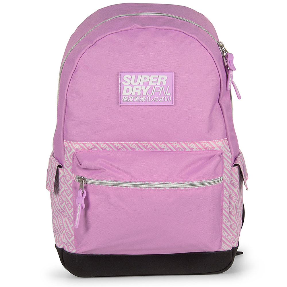 Black Edition Montana Backpack in Pink