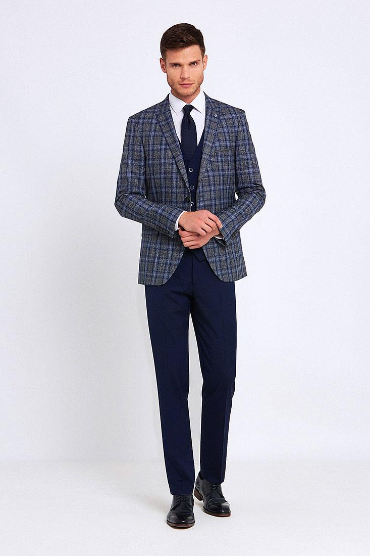 Errol Suit in Blue