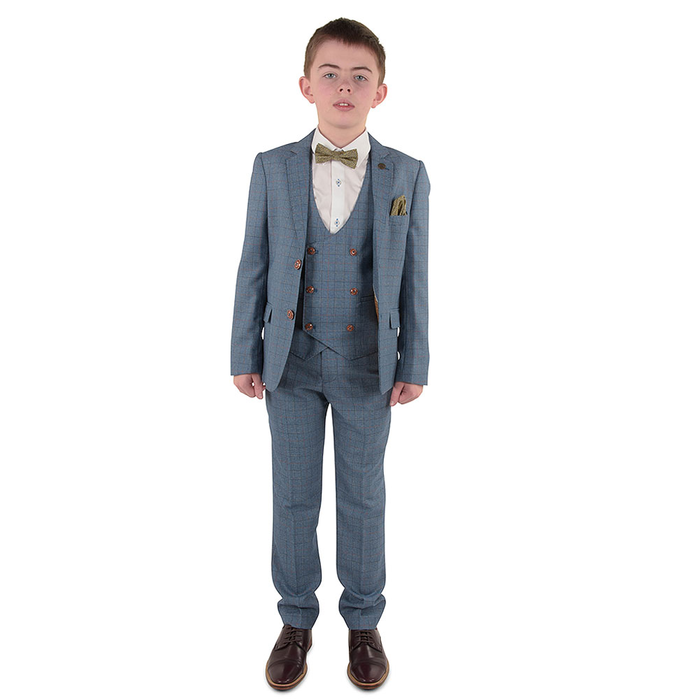 Boys George Suit in Blue