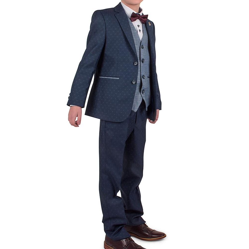 Jack Boy's 3 Piece Suit in Navy