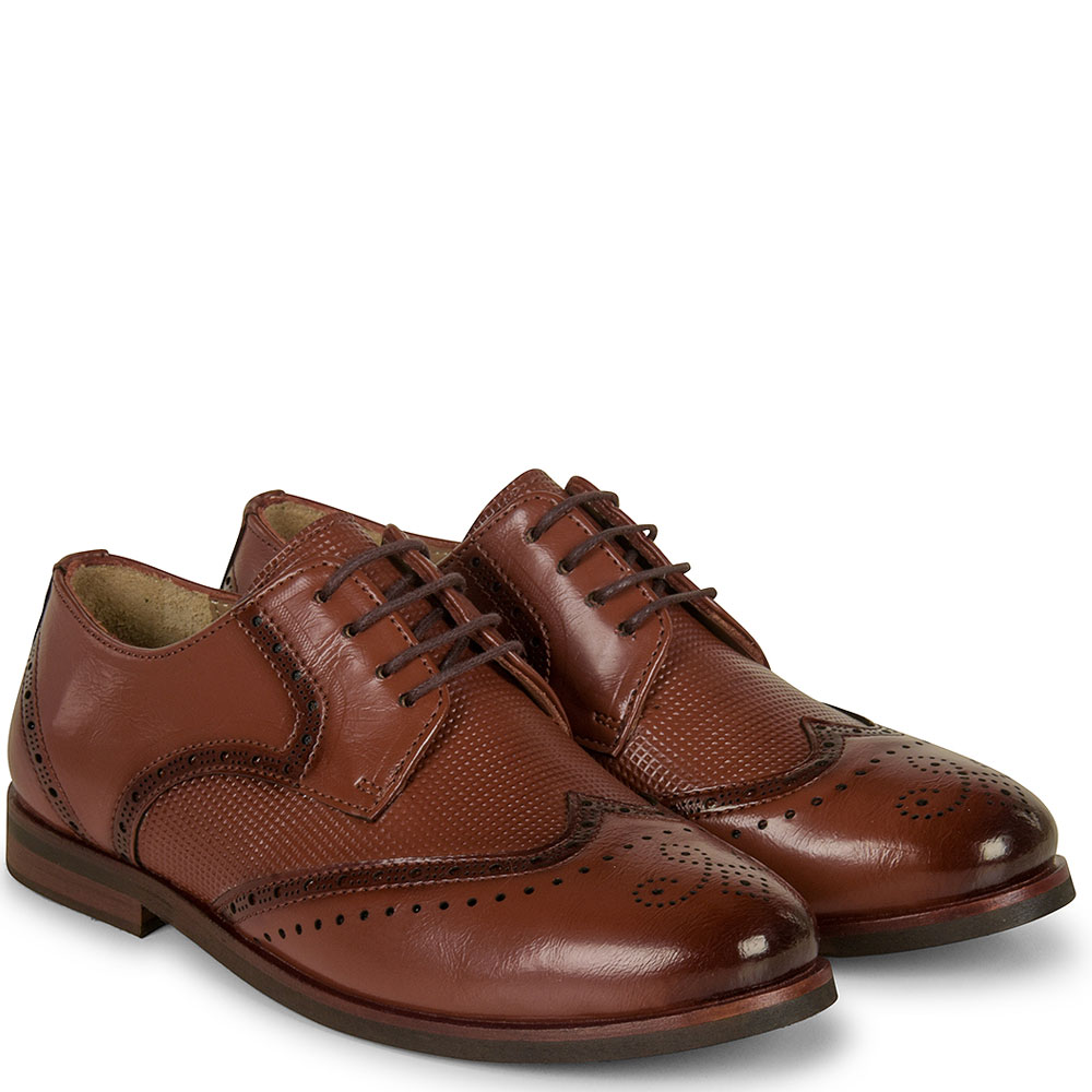 Boys George Shoe in Brown