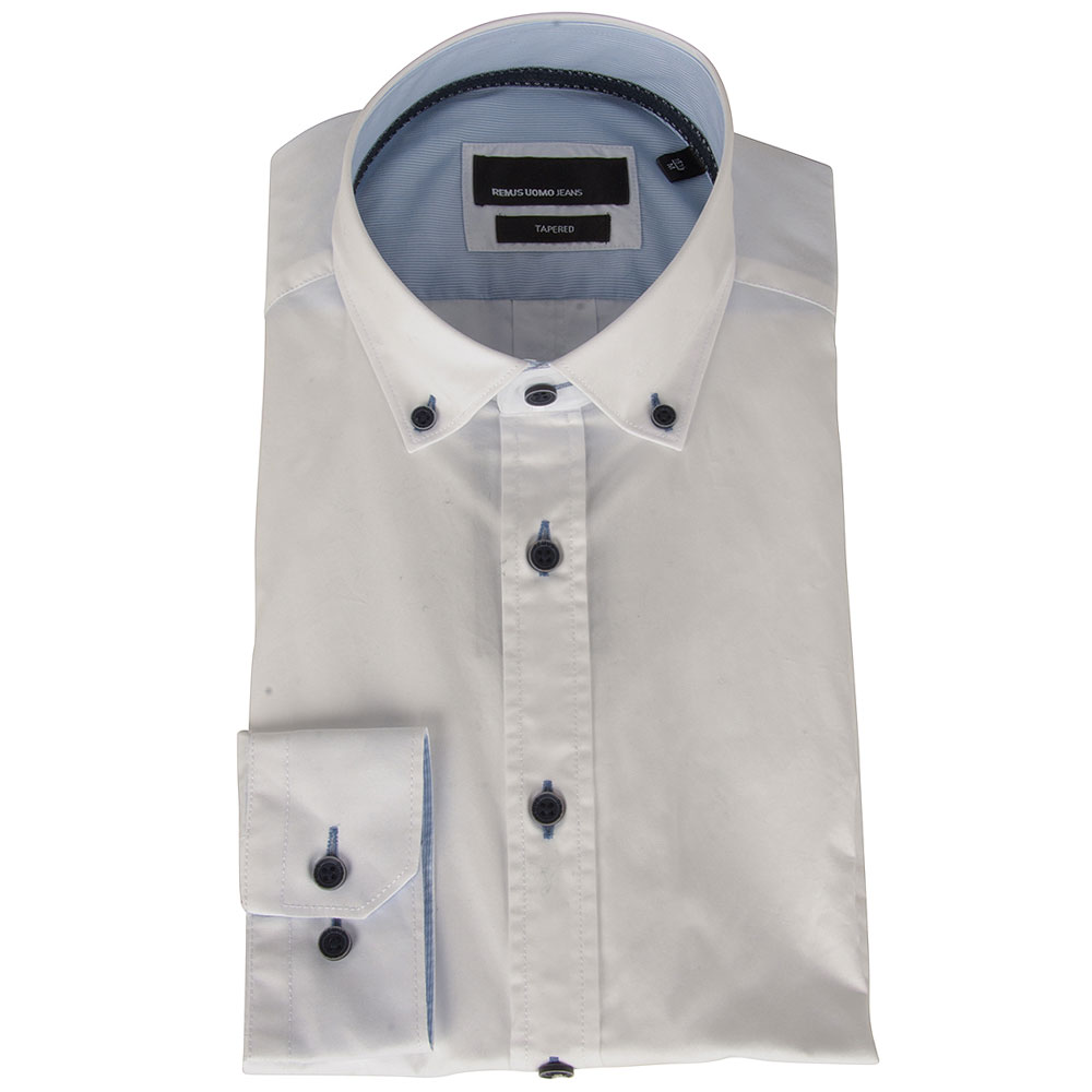 Parker Shirt in White