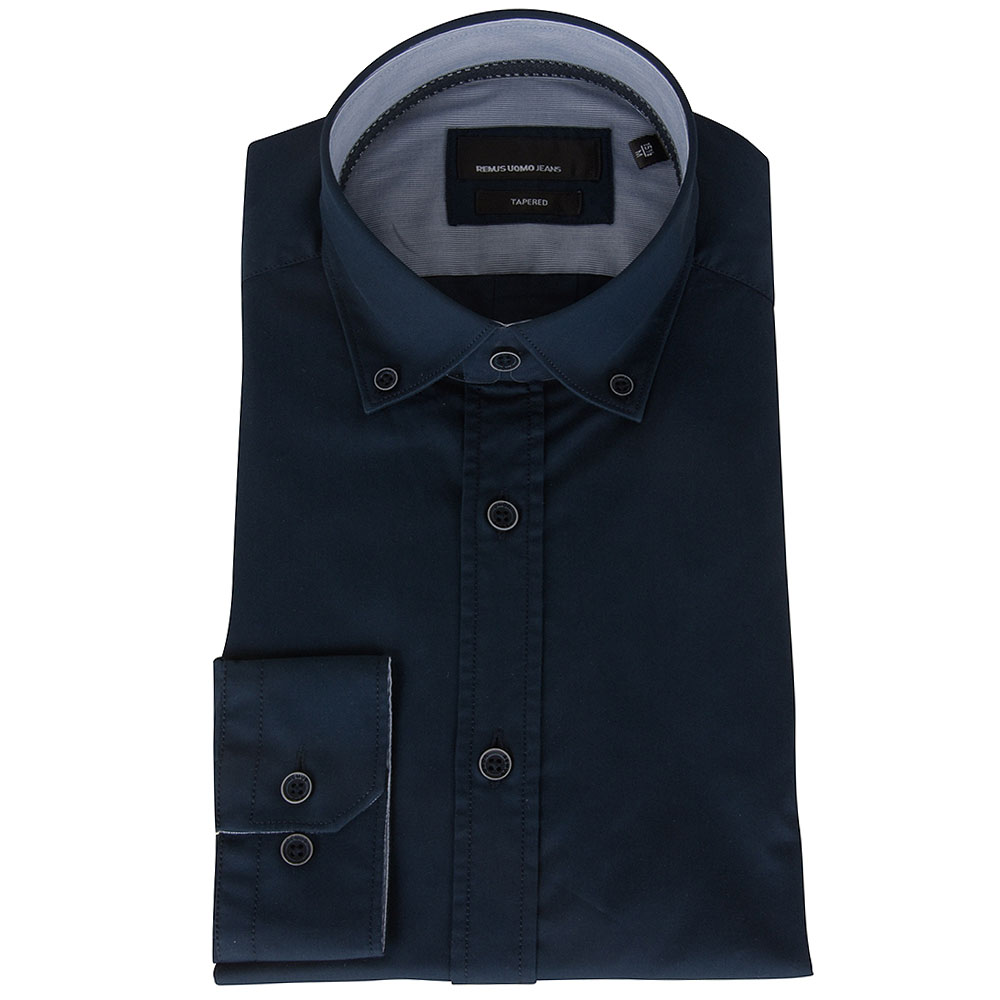Parker Shirt in Navy