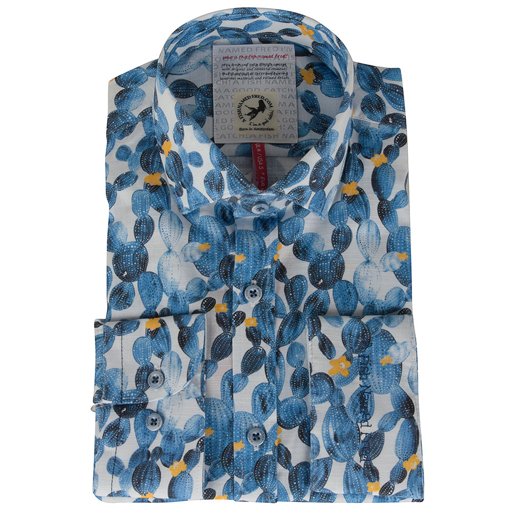 Light Blue Catus Shirt in Lt Blue