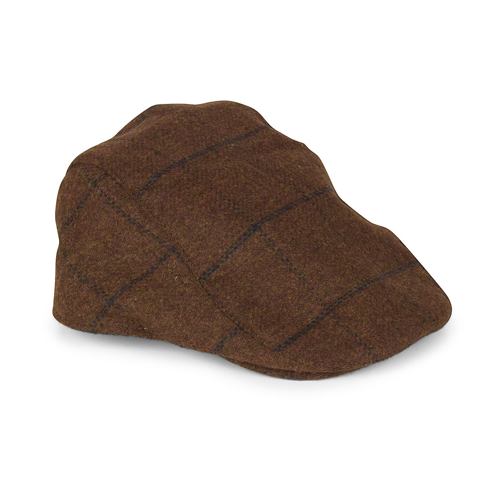 Kemson Flat Cap in Tan