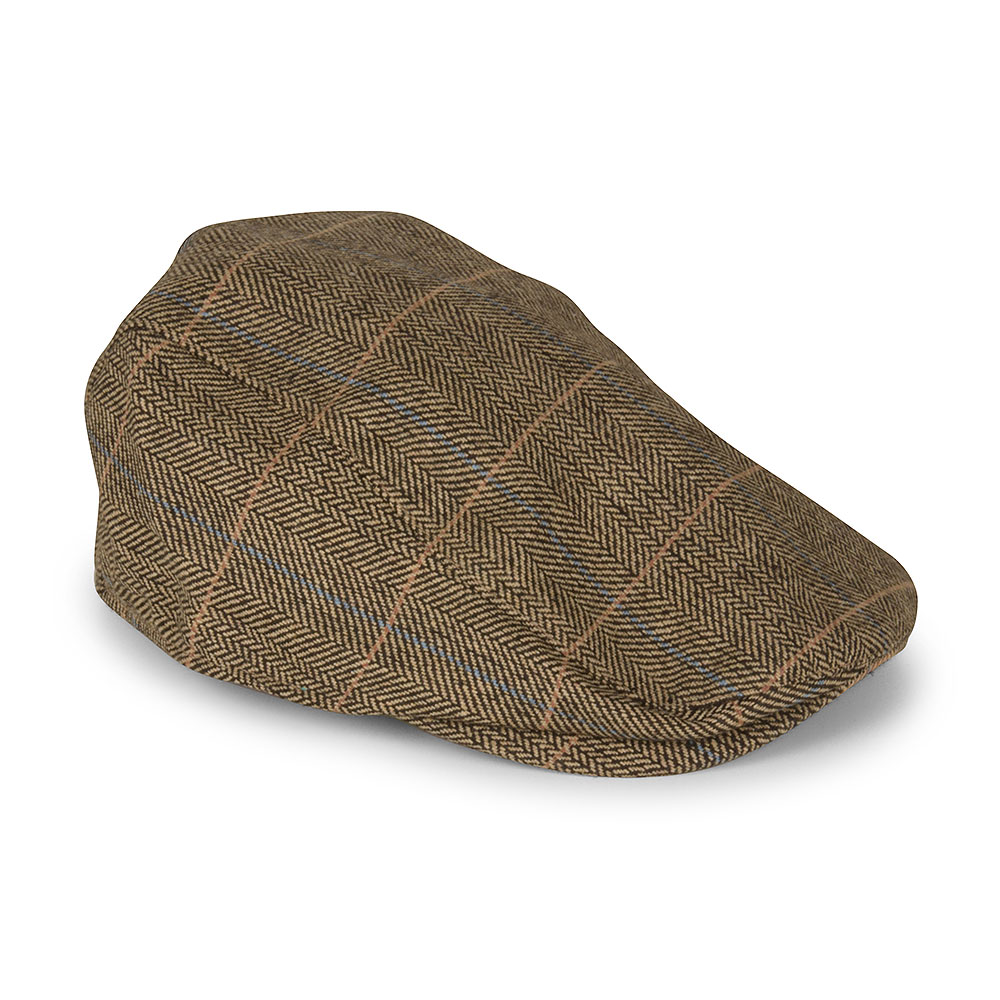Albert Flat Cap in Brown