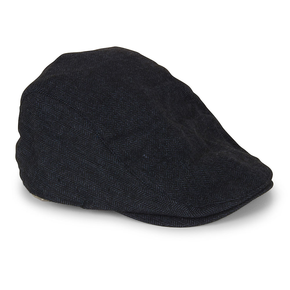 Martez Flat Cap in Blue