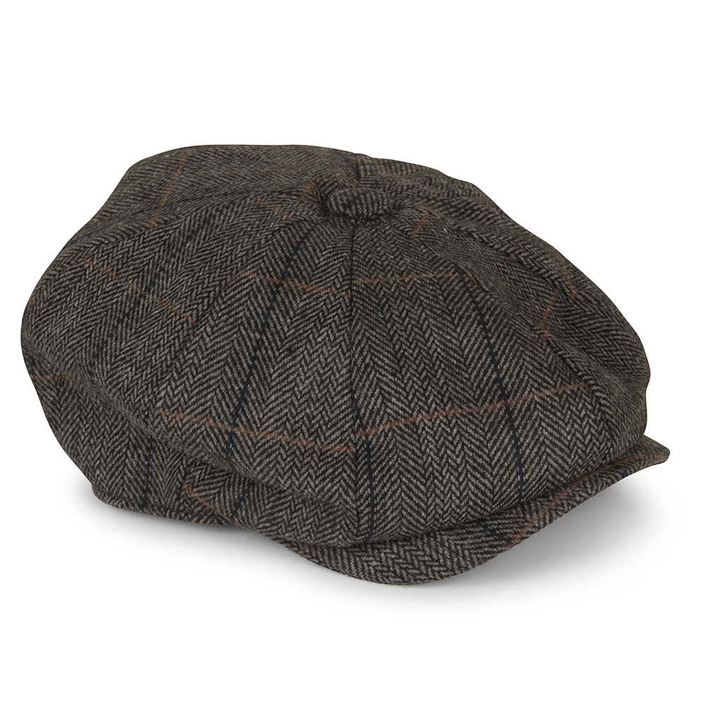 Albert Flat Cap in Grey