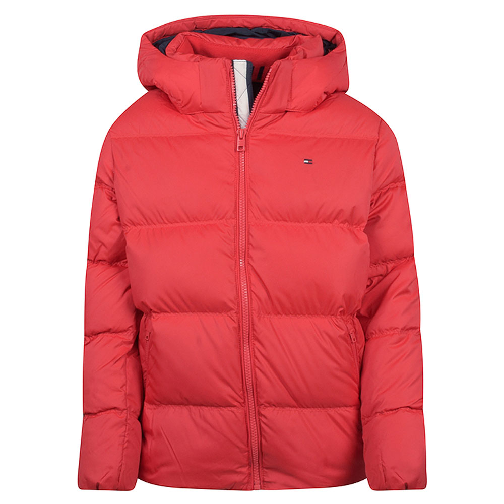 Kids Down Jacket in Red